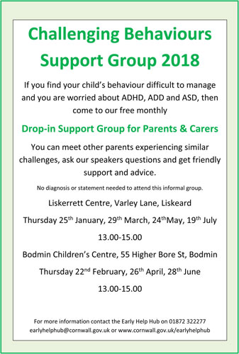 Challenging Behaviours Support Groups 2018 Small 2