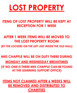 Lost Property Poster