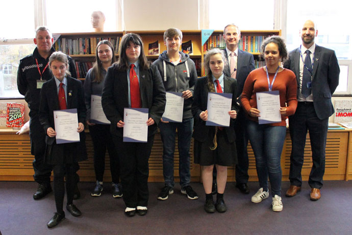 Liskeard School Holocaust Hate Crime Competition