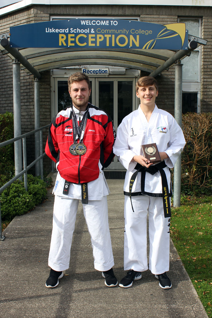 Liskeard School Karate Gold 1