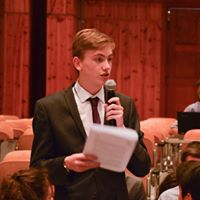 Liskeard School Luke Debating In Greece