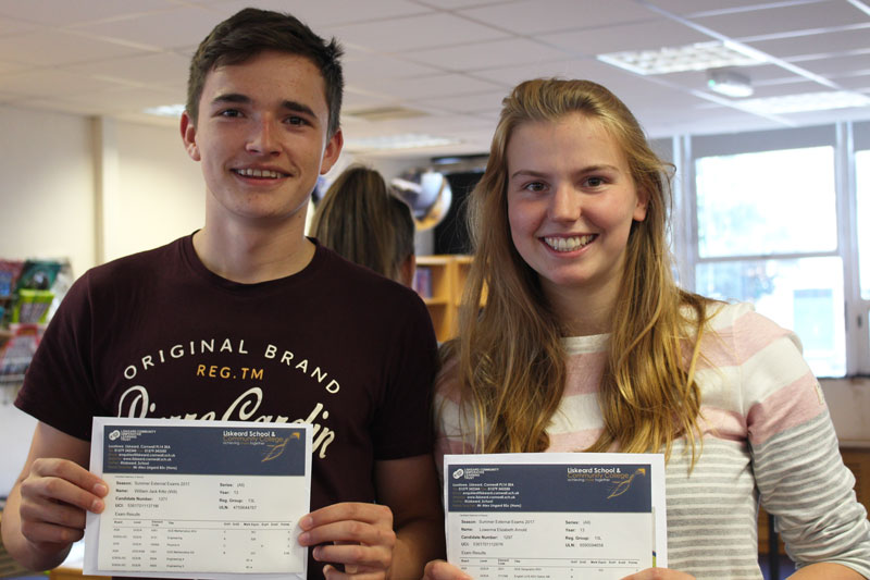 Liskeard School A Level Results 1