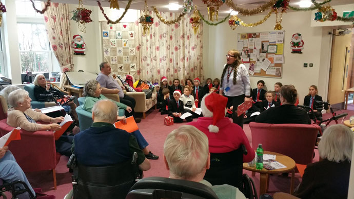 Liskeard School Christmas Visits 1