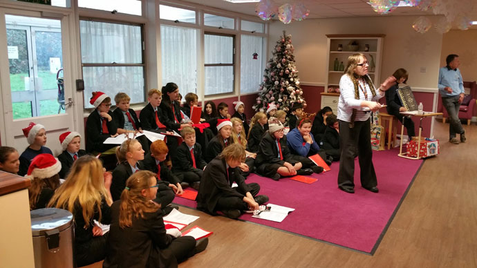 Liskeard School Christmas Visits 2