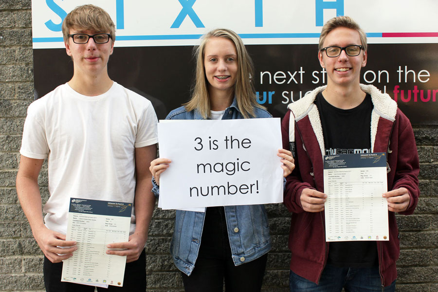 Liskeard School GCSE Results Day 2017 3