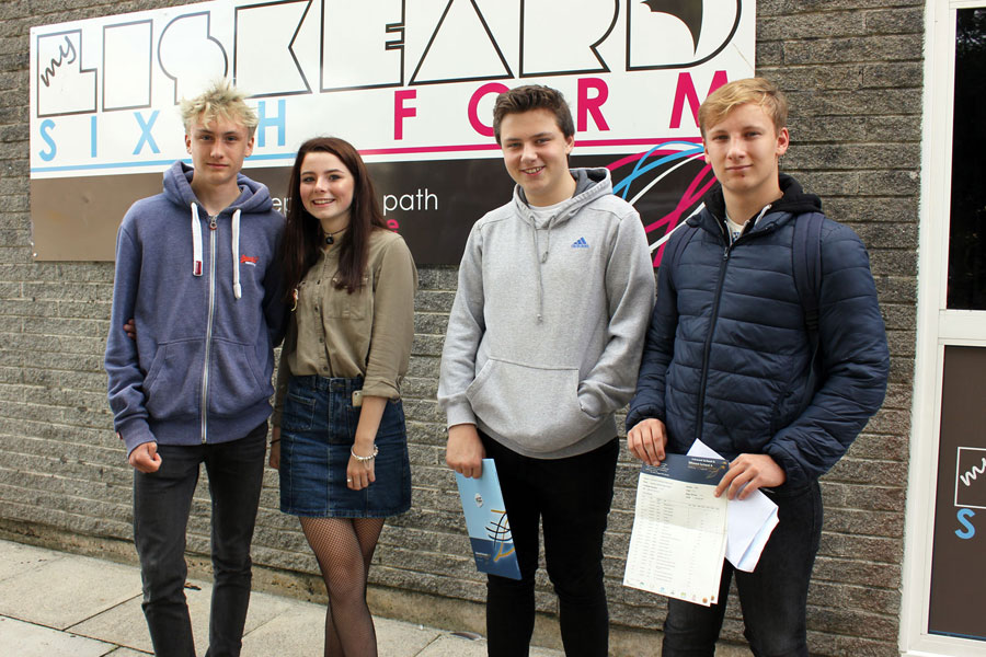 Liskeard School GCSE Results Day 2017 4