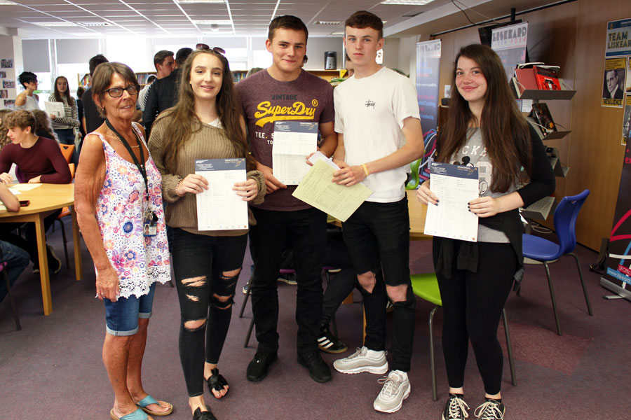 Liskeard School GCSE Results Day 2017 6