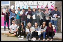 Liskeard School GCSE Results Day 2017