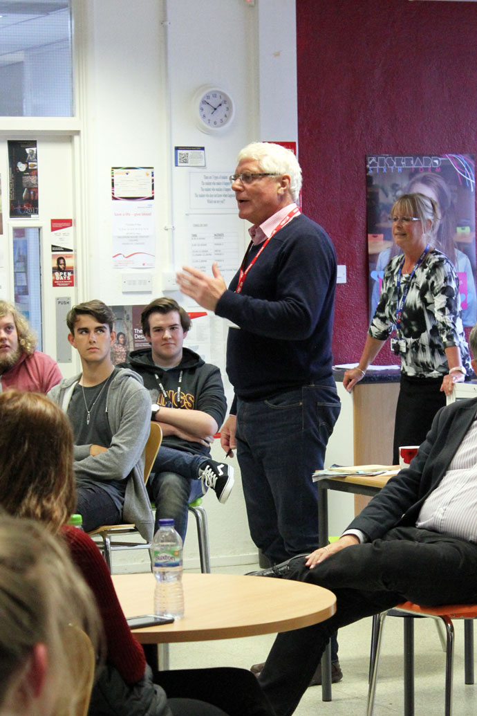 Liskeard School Sixth Form Hustings 2