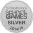 Sainsburys School Games Silver Small